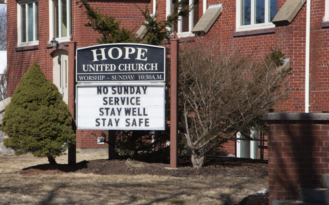 10 Essential Guidelines for Reopening Communities of Faith